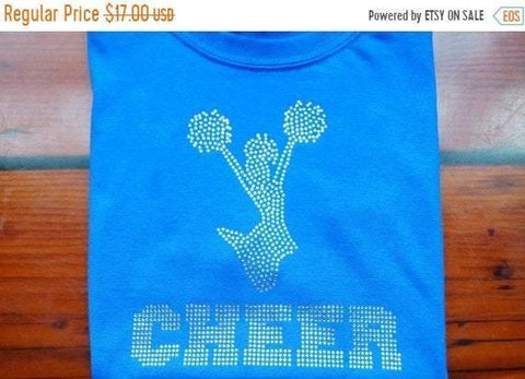 More colors cheer T-shirt