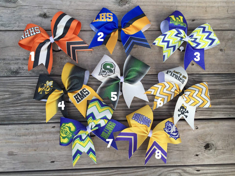 Custom Sublimated Bows