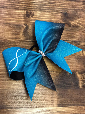 Infinity Cheer Ombre Bow
