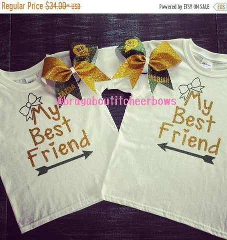 Best friends t-shirts.  More color combinations are available.