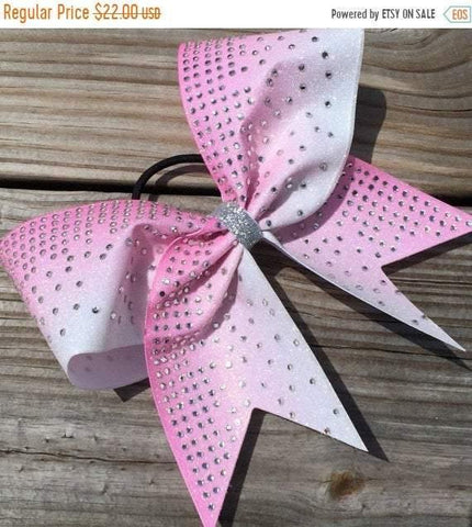 Annabella Cheer Bow in Light Pink