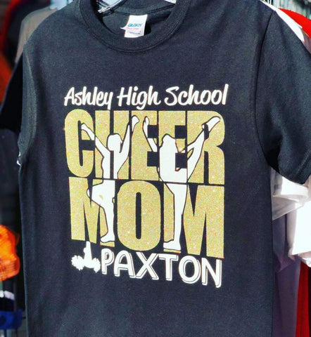Cheer Mom Custom T-shirt