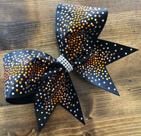 Alivia Rhinestone Cheer Bow