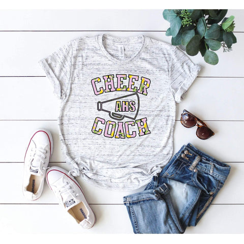 Cheer Coach Megaphone 2 T-shirt