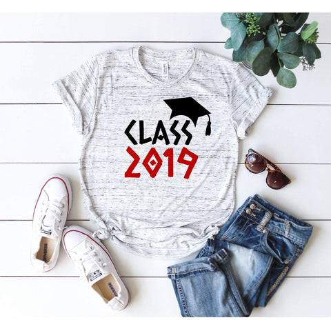 Class of XXXX Greek Letters Senior T-shirt