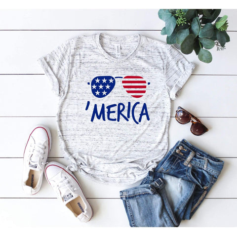 Merica Sunglasses T-Shirt