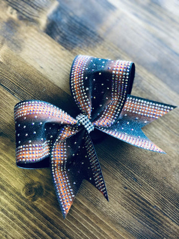 Zippity Oh Rhinestone Cheer Bow