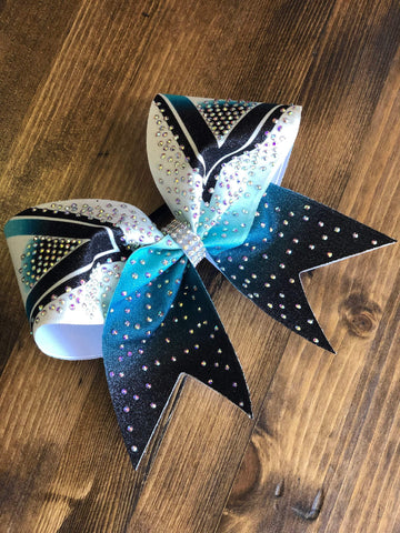 Sydney Rhinestone Cheer Bow