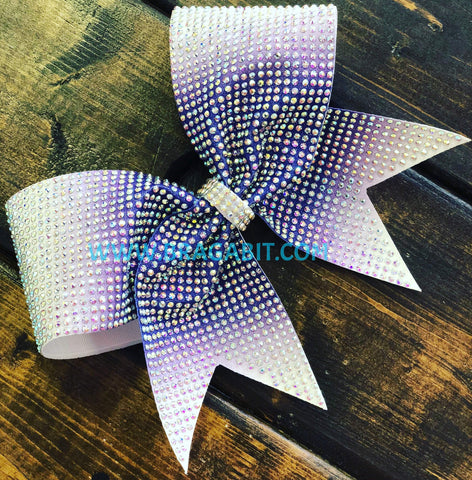 Aine Rhinestone Cheer Bow