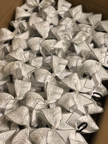 Alexa Rhinestone Cheer Bow