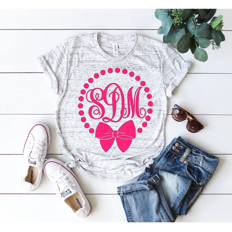 Monogram Frame T-shirt
