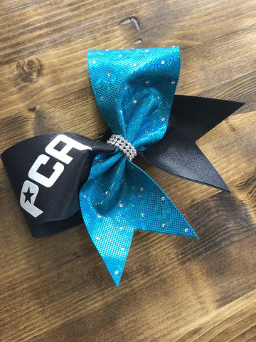 Almira Cheer Bow with Your Team Name