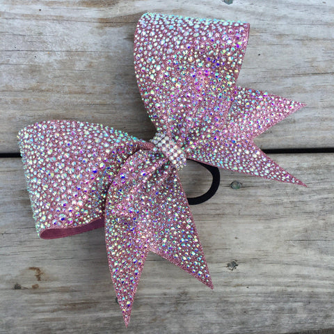 Arabella Rhinestone Cheer Bow