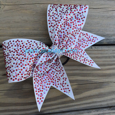 Arbela Rhinestone Cheer Bow