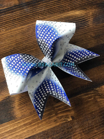 Sunray Rhinestone Cheer Bow