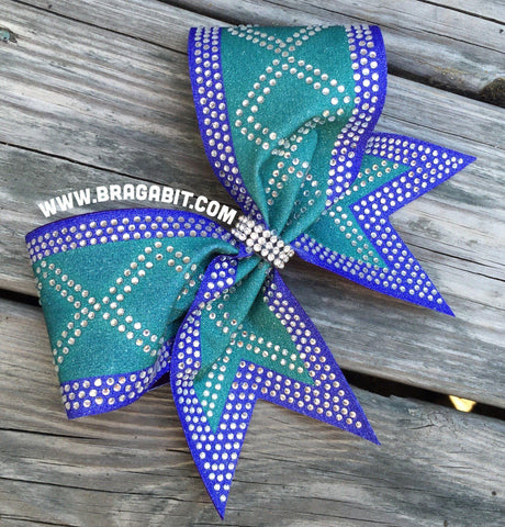 Atala Rhinestone Cheer Bow