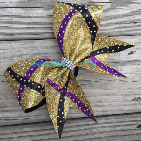 Atia Rhinestone Cheer Bow
