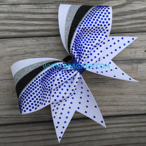 Atta Rhinestone Cheer Bow