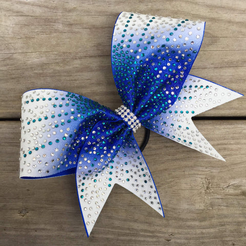 Brona Rhinestone Cheer Bow