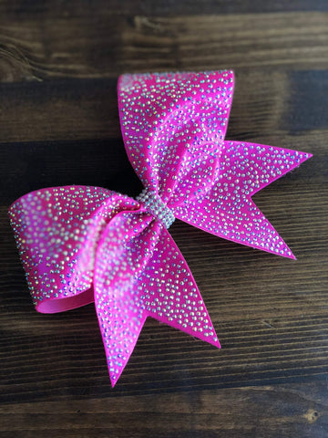 Aline Rhinestone Cheer Bow
