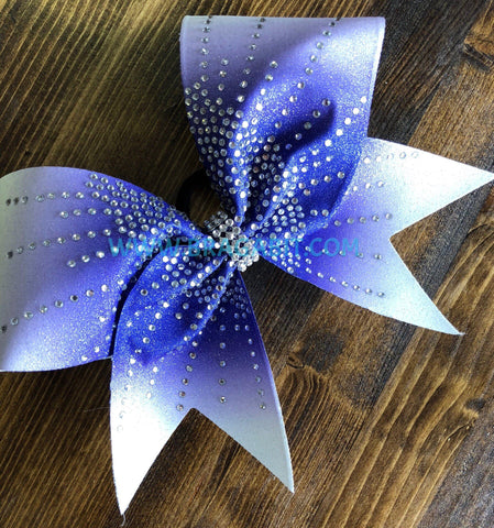 Aliza Rhinestone Cheer Bow
