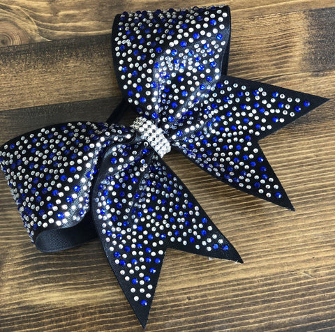 Alma Rhinestone Cheer Bow