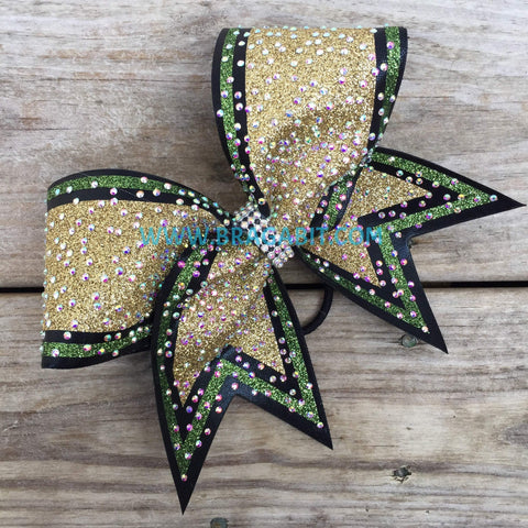 Aira Rhinestone Cheer Bow