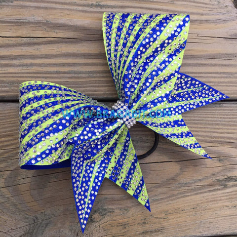 Alabama Rhinestone Cheer Bow