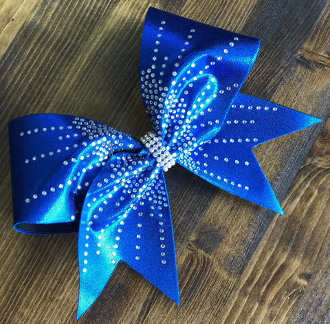 Amelia Rhinestone Cheer Bow