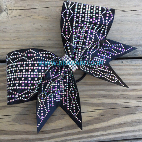 Ariel Rhinestone Cheer Bow