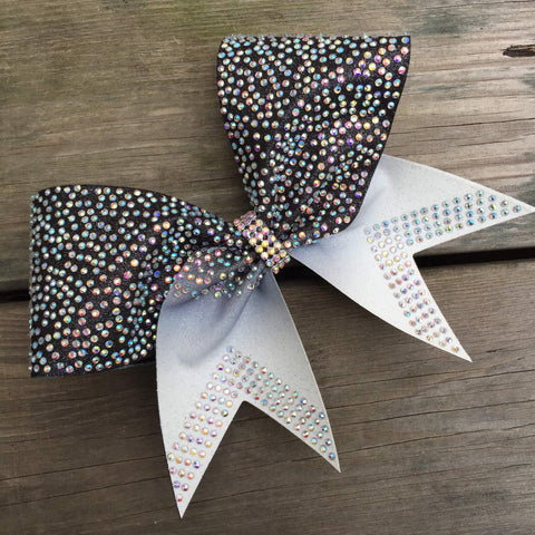 Asia Rhinestone Cheer Bow