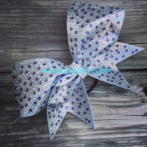 Averil Rhinestone Cheer Bow