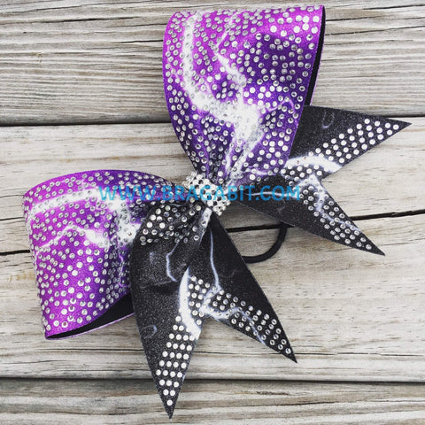 Avila Rhinestone Cheer Bow
