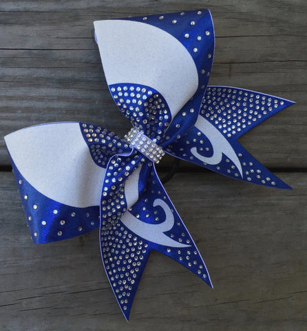 Bebe Rhinestone Cheer Bow