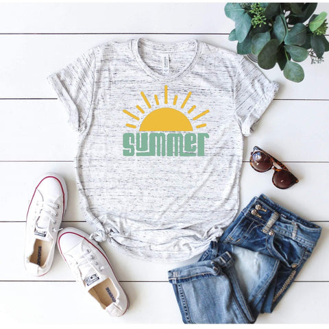 Summer T-shirt / Summer Sun / Sunshine / Beach Life / Summer Fun