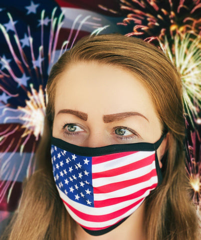 USA Flag Face Mask / Washable / Dust Mask/ Face Mask for Adults/ Face Mask for Youth