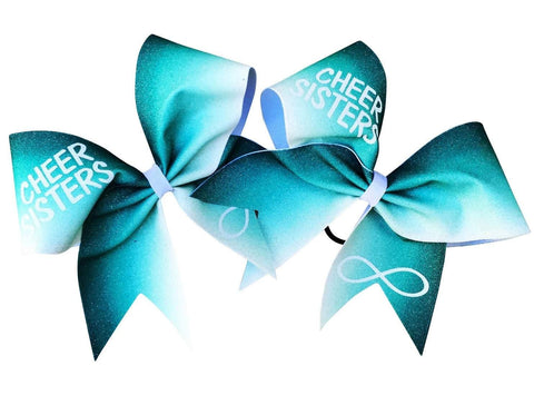 Ombre Cheer Sisters Bows