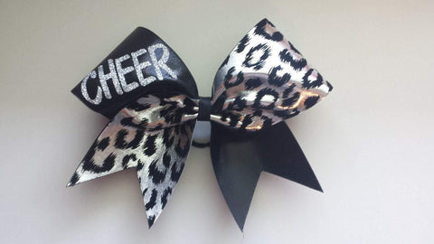 Cheer Cheetah Cheer Bow