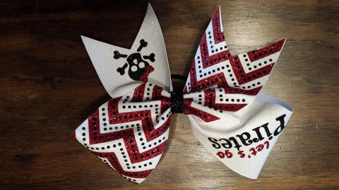 Pirates Cheer Bow