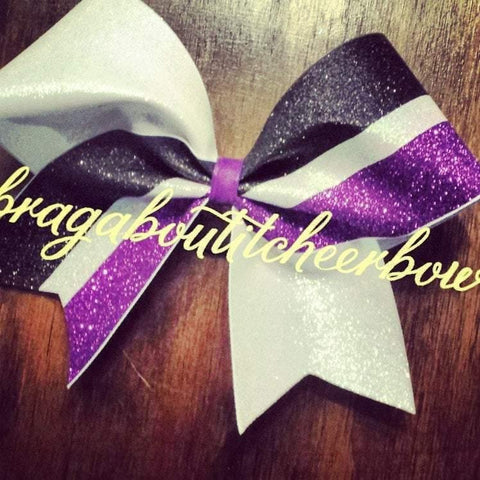 Arwin Glitter Cheer Bow