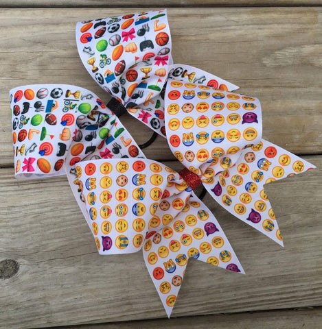 Emoji Bows (price is for one bow)