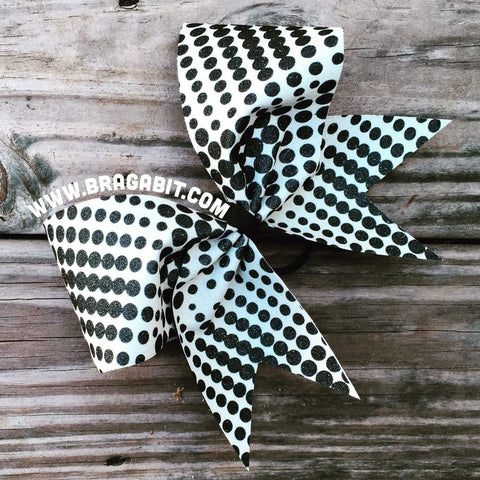 Sublimation Glitter Bow