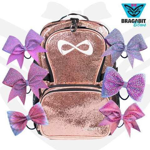 Nfinity Backpack + 6 Bows. Ready To Ship.