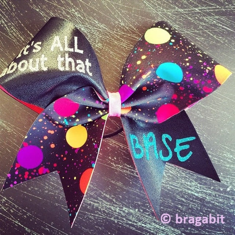 It's all about that base cheer bow - BRAGABIT