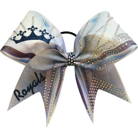Dye sublimated bow. You can add your name or your team name instead of royals. - BRAGABIT  - 1