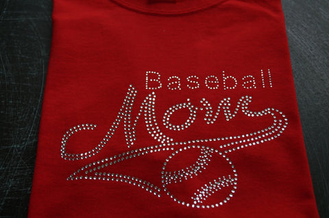 Baseball mom T-shirt - BRAGABIT  - 1