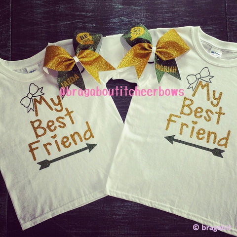 Best friends t-shirts.  More color combinations are available. - BRAGABIT