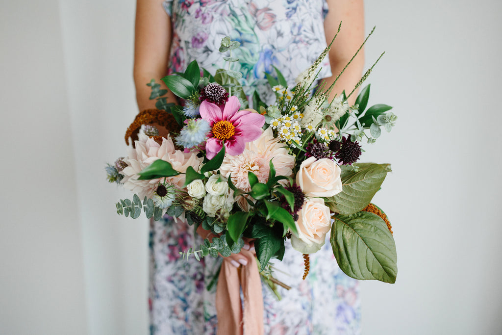 Bespoke dreamy wedding bouquet