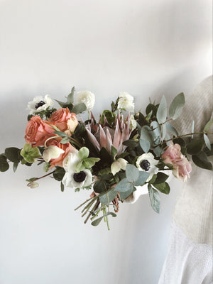Hand tied bouquet workshop - October 4th, 6pm