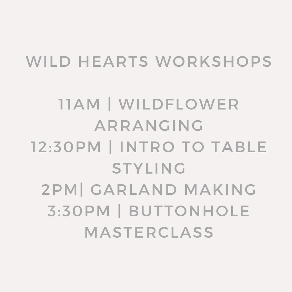 Wild Hearts Series | Intro to table styling